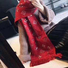 Wholesale Luxury Wool Shawl - Luxury Famous Brand Autumn and winter ladies Scarf Women wool Scarf Fashion Women Designer Tassel Scarves Wholesale free shipping