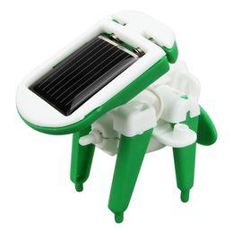 Wholesale Solar Assemble Toy - 6 in1 DIY solar toy car assemble solar vehicle toy Educational DIY Solar Kit Roboti kits Toy Christmas Gift