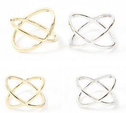 2019 silberplatte kaufen Fashion Band Ringe Rush Buy Frauen Ring Schmuck Finger Tiara Ring Schmuck Zubehör X 3D Midi Finger Ringe Goldenes Silber Überzogene Schmuck rabatt silberplatte kaufen
