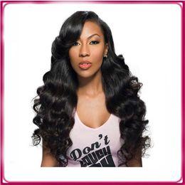 Wholesale Brazilian Hair Supplies - Brazilian human hair full lace wig,Supply hot sale brazilian human hair wigs for black