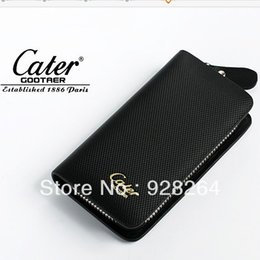 Wholesale leather key cases - Wholesale-Free Shipping Cater gootaer key wallet genuine leather key cases male women's car key holder
