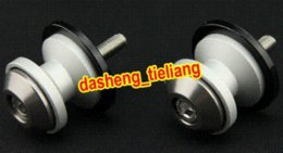 Wholesale Yamaha Spares - 6mm For Yamaha YZF R1 R6 R6S FZ1 FZ1S Universal Swingarm Spools All Year, Grey Color, China Motorcycle Spare Parts & Accessories