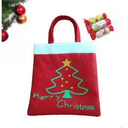 Wholesale Christmas Tree Ornaments Wholesale China - Bag Hot Sale Outdoor Merry Christmas Tree Candy Hand Bag Decorations for Home Ornaments Sweet China Festive Party Supplies Gifts