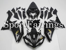 Wholesale Yamaha YZF R1 fairings fit Year Sportbike abs motorcycle fairing kit body skin black with gold decals