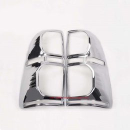 Wholesale Rear Tail Light Covers - 2012-2014 For toyota Hilux Accessories ABS Chrome Design Rear Lamp Cover For toyota Hilux Vigo Tail Light Casing Parts 2013