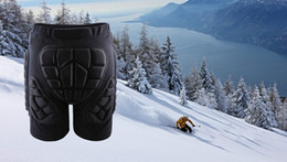 Wholesale Roller Protections - Wholesale-2015 New Unisex Sport Racing Ski Safety Protection Motorcycle Snowboard Skating Roller Armor Shorts Hip Protector