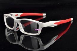 Wholesale Reading Glasses Gold Frame - Eyewear Frames TR 90 Myopia Reading Glasses Frame Men Women Optical Eyeglass Frame Eyewear With Case