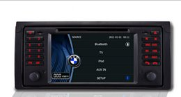 Wholesale Phone Charger For India - 7 inch LCD-TFT touch screen car DVD player for BMW E39 with GPS navigator and Bluetooth