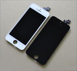 Tela 5s original on-line-Para iphone 5 5s 5c 5g display lcd screen display com digitador original de vidro sem dead pixel frete grátis por dhl