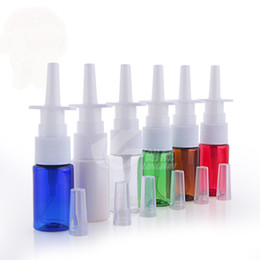 Wholesale Pharmaceuticals Wholesalers - 50pcs lot New 10ml Pharmaceutical PET Nasal Spray Bottle, Plastic Emulsion Bottle Container Packaging ,sample bottles