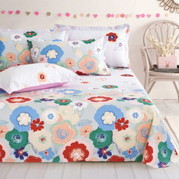 Wholesale Mattress Comforters - Wholesale bed sheet cotton printed king size fitted sheets Mattress Cover 180*200cm bedsheet F15-1