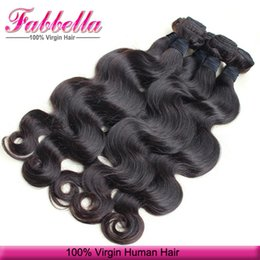 Wholesale brazilian virgin hair uk - Human Hair Pieces UK Body Wave Hair Weaving 8a Peruvian Hair Brazilian Malaysian Indian Cambodian Hair Best Quality Can Be Dye