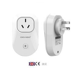 Wholesale Wireless Switch Sockets - Orvibo S20 Smart wifi Socket timer switch Travel Wall Plug wireless control home appliance for smart phone power socket