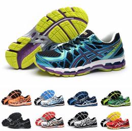 Wholesale Blue Lighting Gels - New Brand Asics Gel-Kayano 20 T3N2N-32900190 Running Shoes For Men, Breathable Avoid Shock High Support Lightweight Sneakers Eur 40-45
