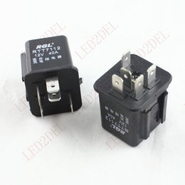 Wholesale Dimmer Relay - High voltage Car lighting Dimmer charge relay DC 12V 5 pin 40A waterproof Universal type fit all cars 5 pins