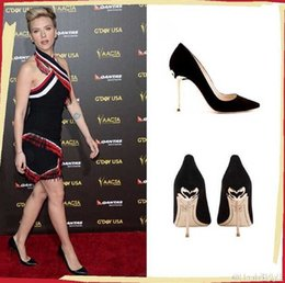 Wholesale Cheap Women Wedding Shoes - 2016 New Celebrity Pumps Womens Shoes Patent Leather Stiletto 12CM Heels T Stage Wedding Shoes Groom Dress Pumps Female Cheap