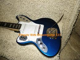 Wholesale Electric Guitars Jaguar - Left Handed Guitars Blue Jaguar Electric Guitar Rosewood Fingerboard New Arrival Wholesale Guitars