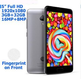 Wholesale Digital Camera 16mp Hd - 1920*1080 16MP Touch id 5.0 inch full HD MTK6753 Octa Core 3GB RAM 4G LTE Android Smartphone
