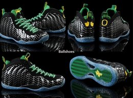 Wholesale Cheap Penny - Penny Hardaway Men's basketball shoes Pro Oregon Ducks Athletic Shoes cheap men shoes Apple Green Silver