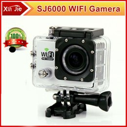 Wholesale Motor Dvr - Action Camera Full HD DVR Sport DV SJ6000 wifi version 30m Wifi control 1080P Helmet Waterproof Camera Motor Mini DV SJ6000 order<$18no trac
