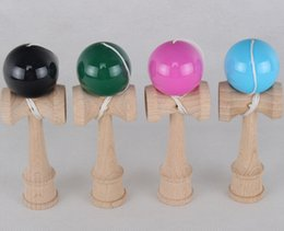 Wholesale Traditional Japanese Children Toys - MINI 12.5CM Actual Mini Pocket Kendama Japanese Traditional Toy Balls Educational Toys For Adult Gift For Children
