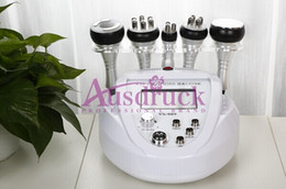 Wholesale Wrinkle Removal Equipment - mini Vacuum Radio Frequency Cellulite red photon Ultrasonic Cavitation RF Slimming machine face lifting wrinkle removal beauty equipment