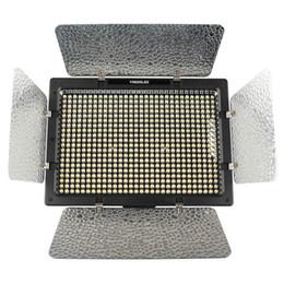 Wholesale Led Lights Video Yongnuo - YN-600 YongNuo 600 LED video DSLR Camera Camcorder Studio Photography Light +IR Remote