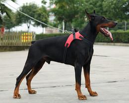 Wholesale Medium Duty - 2017 Nylon Heavy Duty Dog Pet Harness Collar K9 Padded Extra Big Large Medium Small Dog Harnesses vest Husky Dogs Supplies
