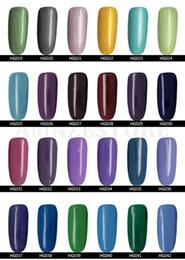 Wholesale Gelish Nail Polish Blue - 2016 Hot Gelish Nail Polish Soak Off Nail Gel For Salon UV Gel 233Colors 15ml Free shipping