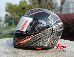 Wholesale China Flip Up Helmets - Wholesale-free shipping the china CROSS RACING Casco capacetes full face flip up motorcycle helmet better than jiekai 105 XS S ~ XXL size