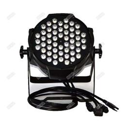 Par 54 online-Moka MK-P17 Led Rgbw 54 * 3W Par può illuminare DMX 512 Led Stage Par Lighting DJ Equipment
