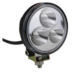"""Wholesale Atv Lighting Kit - Super bright New Arrival 10-30V Round 3"""" 9W tractor off road ATV LED work light spot Beam working lamp Fog light kit"""