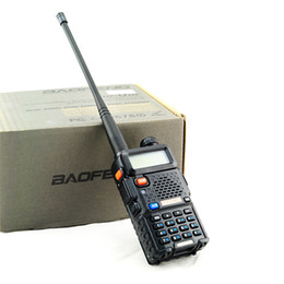 Wholesale Handheld Vhf Ham Radio - BAOFENG UV-5R Dual Band VHF UHF Two Way Ham Radio Transceiver Walkie Talkie