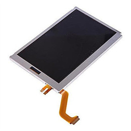 Wholesale Nintendo 3ds Lcd - For Nintendo 3DS XL LL Replacement Upper Top LCD Display Screen Original and New High Quality DHL FEDEX EMS FREE SHIPPING