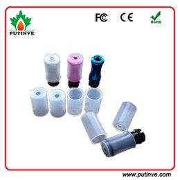 Wholesale Wholesale Individual Disposable E Cigarettes - Disposable Mouth Piece Colorful e cigarette atomizer test Drip Tip Cover Individual Package