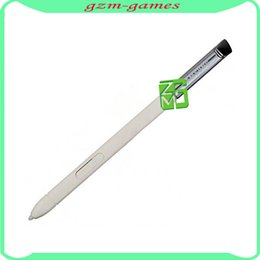 Wholesale Note Ii Stylus Pen - Wholesale-Replacement Stylus Touchpen for Samsung Galaxy Note 2 II N7100 N7105 i317 Pen stylus Capacitive Pen white color