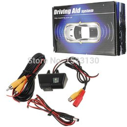 Wholesale Rear View Camera For Ford - 170CCD Car Reversing Rear View License Plate Camera for Ford Transit Connect FREE SHIPPING