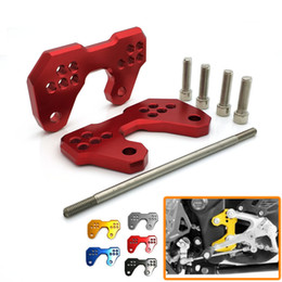 Wholesale Rearset Rear Set - New Motorcycle Rearset Rear set Replacement Base Mounting Bracket Plate CNC-machined For Yamaha YZF R3 2015 2016 YZF R25 MT03 2013 2014