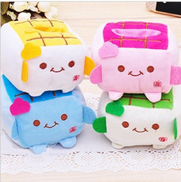 Wholesale Plush Mobile Holder - Wholesale-Free Shipping Plush Stuffed Toys Cellphone Holder Mobile Phone Holder Case Car Decoration Holders Pouch Bag 12pcs lot LNZ0263