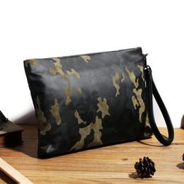 Wholesale Wallet Factory - Factory wholesale brand bag essential luxury velvet camouflage man metrosexual man hand bag fashion velvet wallet personality velvet bag