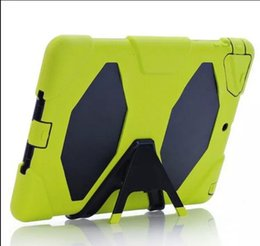 Wholesale China Wholesale Military - Extreme Military Survival silicone Heavy Dust Shock Proof Case Cover With stand holder For for iPad 2 3 4 5 6 mini 1 2 3 air air2