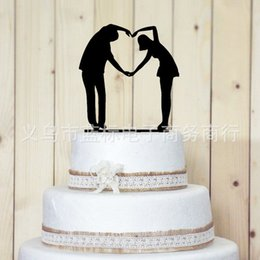 Wholesale Order Cake Supplies - Romantic Wedding Cake Toppers White Wedding Cake Toppers Supplies order<$15 no tracking