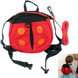 Wholesale Safety Harness Backpacks - Children Safety Harness Strap Backpack Anti-lost Walking Wings Toddler Safety Harness Baby carrier Free Shipping