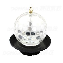 Wholesale Disco Ball Gradient - Wholesale-Free Shipping Crystal Magic disco Ball light RGB DMX Rotative Colorful Gradient LED Stage Light For Bar christmas Party light