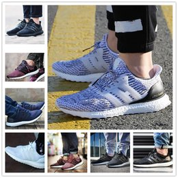 Wholesale Snowflake Shoes - Hot Sale 2017 New Ultra Boost 2.0 3.0 4.0 UltraBoost Mens Running Shoes sneakers women Sport Tri-Color CNY Snowflake Core Triple Black White
