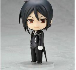 Wholesale Nendoroid Sebastian - Japanese Anime Figures Nendoroid Black Butler Sebastian Michaelis PVC Action Figure Model Toy 10cm