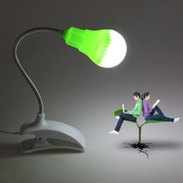 Wholesale Desk Lamp Flexible - Flexible Bright Switch Bed Table Desk Light Mini LED USB Light Computer Lamp for Notebook PC