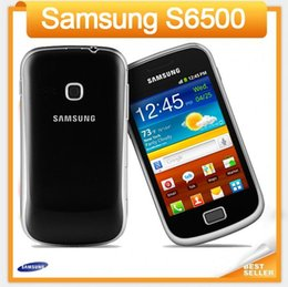 Wholesale Android Unlocked Gsm - S6500 Original phone Samsung S6500 GSM 3G wifi GPS 3.15MP Camera Unlocked cell phone Refurbished mobile phone
