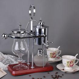 Wholesale Royal Coffee Balance - Royal Belgium coffee maker balancing coffee machine expresso coffee maker silver promotion