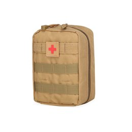 Wholesale Green Medicals - GOOD!Outdoor sports purse tactics medical first aid kit Army fan tactics pack Unexpected help Outdoor necessities